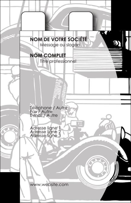 Carte de visite mod le et exemple garage concessionnaire automobile r paration de voiture - Garage pour reparation de voiture ...