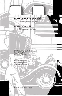 personnaliser maquette carte de visite garage concessionnaire automobile reparation de voiture MIS32138
