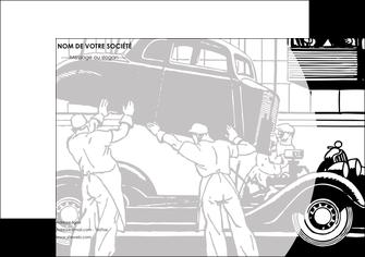 modele affiche garage concessionnaire automobile reparation de voiture MIS32158