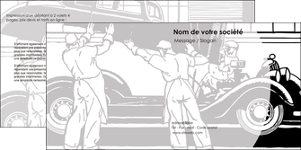 maquette en ligne a personnaliser depliant 2 volets  4 pages  garage concessionnaire automobile reparation de voiture MIS32162