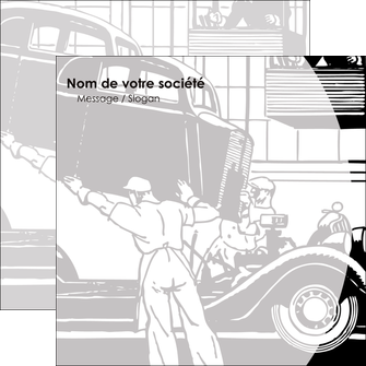 personnaliser modele de flyers garage concessionnaire automobile reparation de voiture MIS32164