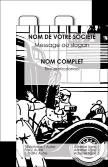 modele en ligne carte de visite garage garagiste atelier de garagiste MIS32320