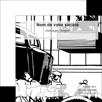 creation graphique en ligne flyers garage garagiste atelier de garagiste MIS32322