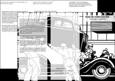 maquette en ligne a personnaliser depliant 3 volets  6 pages  garage garagiste atelier de garagiste MIS32344