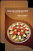 cree carte de visite pizzeria et restaurant italien pizza pizzeria zone tampon MLGI32359