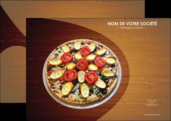 imprimer flyers pizzeria et restaurant italien pizza pizzeria zone tampon MLGI32360