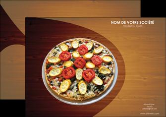 realiser affiche pizzeria et restaurant italien pizza pizzeria zone tampon MLGI32368