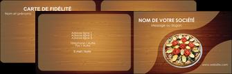 realiser carte de visite pizzeria et restaurant italien pizza pizzeria zone tampon MLGI32370
