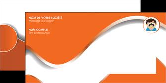 creation graphique en ligne enveloppe infirmier infirmiere opticien lunetier optometristes MLGI32482