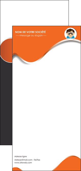 faire modele a imprimer flyers infirmier infirmiere opticien lunetier optometristes MLIG32496