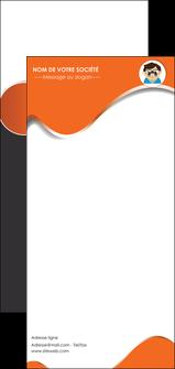 faire modele a imprimer flyers infirmier infirmiere opticien lunetier optometristes MLGI32496