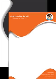 maquette en ligne a personnaliser flyers infirmier infirmiere opticien lunetier optometristes MLIG32504