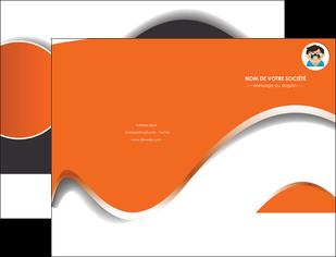 imprimerie pochette a rabat infirmier infirmiere opticien lunetier optometristes MLGI32516