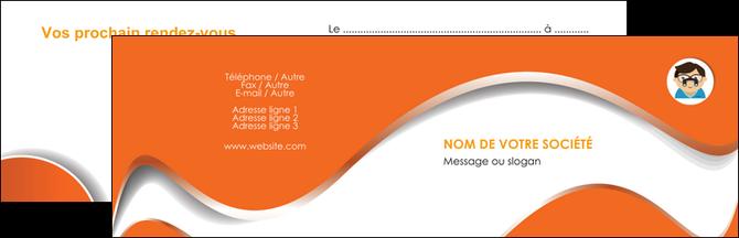 creation graphique en ligne carte de visite infirmier infirmiere opticien lunetier optometristes MLGI32518