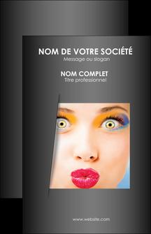 exemple carte de visite cosmetique maquillage beaute couleur MLGI32528