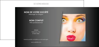 faire modele a imprimer carte de correspondance centre esthetique  maquillage beaute couleur MLGI32532