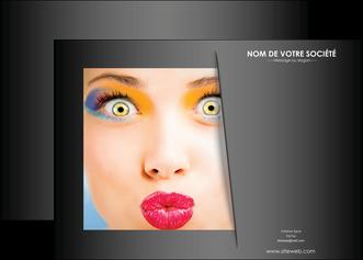 imprimerie affiche centre esthetique  maquillage beaute couleur MLGI32538