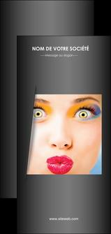 faire flyers centre esthetique  maquillage beaute couleur MLGI32540