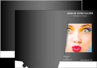 maquette en ligne a personnaliser pochette a rabat centre esthetique  maquillage beaute couleur MLGI32560