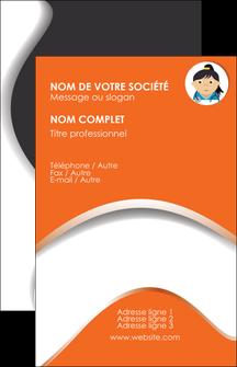 creer modele en ligne carte de visite infirmier infirmiere infirmiere infirmerie blouse MLGI32594