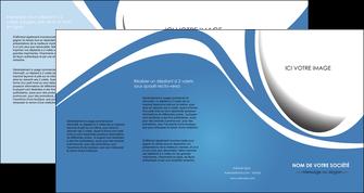 creer modele en ligne depliant 4 volets  8 pages  texture contexture structure MLIG32670