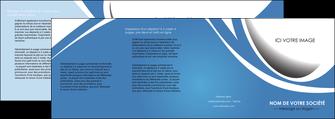 faire depliant 4 volets  8 pages  texture contexture structure MLIG32672