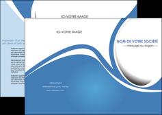 exemple depliant 2 volets  4 pages  texture contexture structure MLGI32678