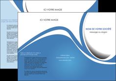 imprimerie depliant 3 volets  6 pages  texture contexture structure MLIG32686
