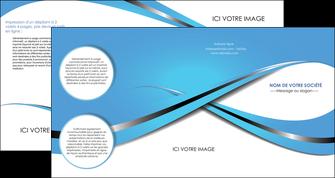 personnaliser maquette depliant 4 volets  8 pages  texture contexture structure MLGI32744