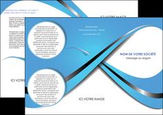 faire modele a imprimer depliant 3 volets  6 pages  texture contexture structure MLGI32760