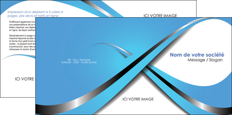 cree depliant 2 volets  4 pages  texture contexture structure MLGI32766