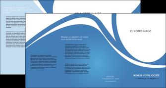 personnaliser modele de depliant 4 volets  8 pages  texture contexture structure MLIG32788