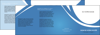 creer modele en ligne depliant 4 volets  8 pages  texture contexture structure MLIG32790