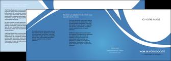 modele en ligne depliant 4 volets  8 pages  texture contexture structure MIF32792
