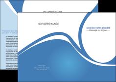 modele depliant 2 volets  4 pages  texture contexture structure MLIG32794