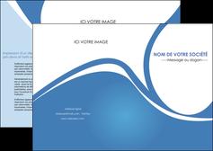 exemple depliant 2 volets  4 pages  texture contexture structure MLIG32796
