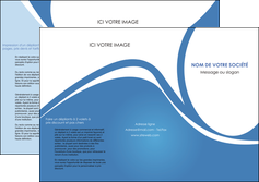exemple depliant 3 volets  6 pages  texture contexture structure MLGI32804