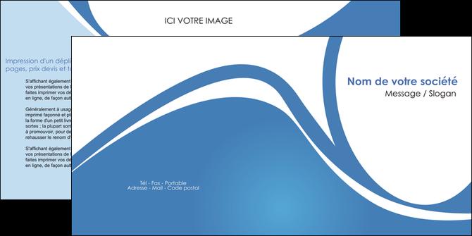 personnaliser maquette depliant 2 volets  4 pages  texture contexture structure MLGI32810
