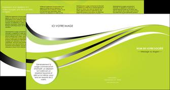 personnaliser modele de depliant 4 volets  8 pages  texture contexture structure MLIG32886