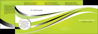 modele depliant 4 volets  8 pages  texture contexture structure MLIG32888