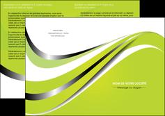 creer modele en ligne depliant 2 volets  4 pages  texture contexture structure MLGI32892