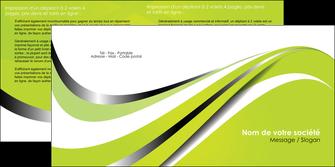 imprimerie depliant 2 volets  4 pages  texture contexture structure MLIG32908