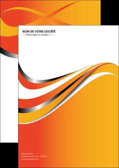 personnaliser modele de flyers texture contexture structure MIF32990