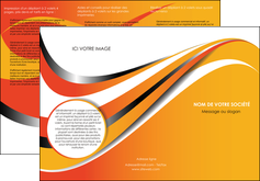 imprimerie depliant 3 volets  6 pages  texture contexture structure MIF33004