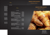 maquette en ligne a personnaliser set de table boulangerie maquette boulangerie croissant patisserie MLGI33093