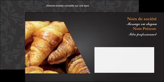 faire enveloppe boulangerie maquette boulangerie croissant patisserie MIF33120