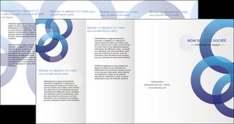 impression depliant 4 volets  8 pages  texture contexture structure MLGI33136