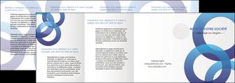 creer modele en ligne depliant 4 volets  8 pages  texture contexture structure MLGI33138