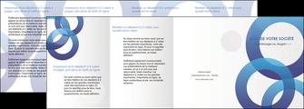 modele en ligne depliant 4 volets  8 pages  texture contexture structure MLGI33140