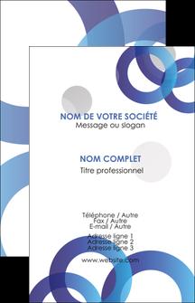 Commander Carte de visite avec logo entreprise ou société  modèle graphique pour devis d'imprimeur Carte de visite - Portrait